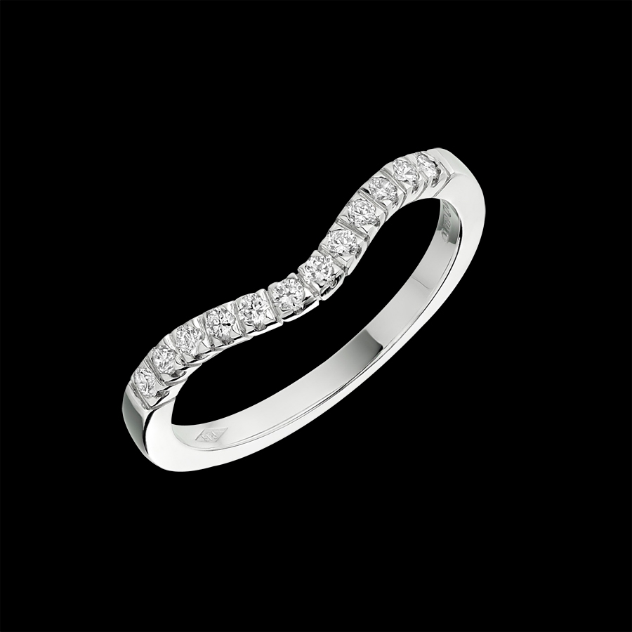 'Wishbone' Diamond Band