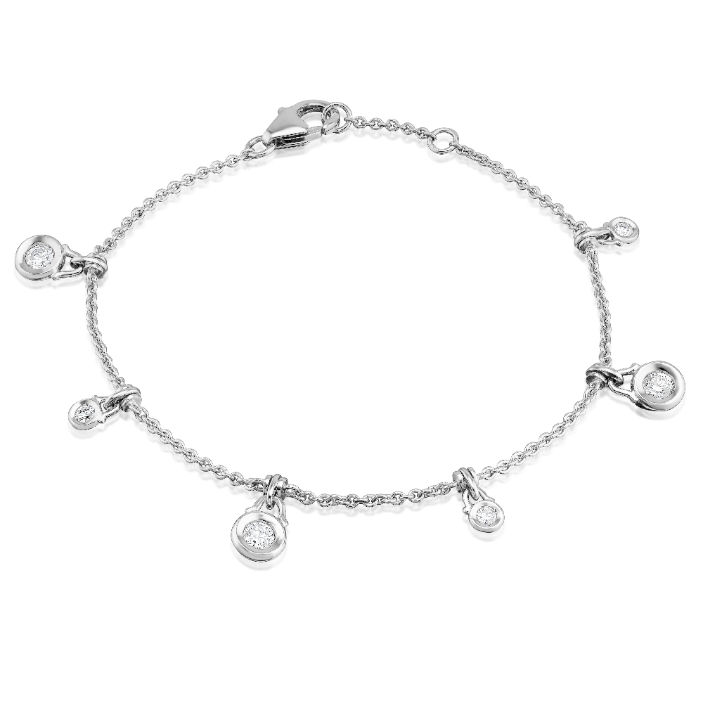 Delicate Diamond Set Bracelet