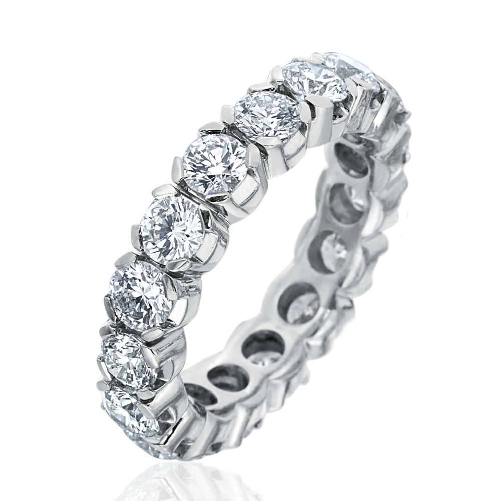 4ct Diamond Full Eternity Ring