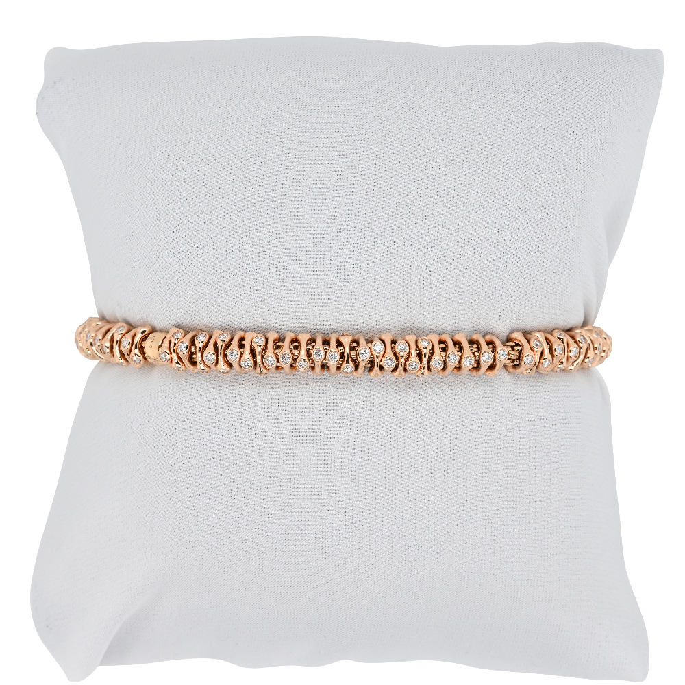 Fope Flex'it Prima Rose Gold Bracelet