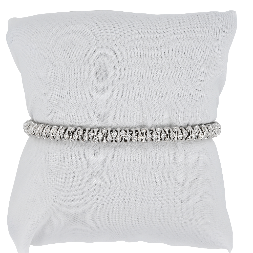 Fope Flex'it Prima White Gold Bracelet