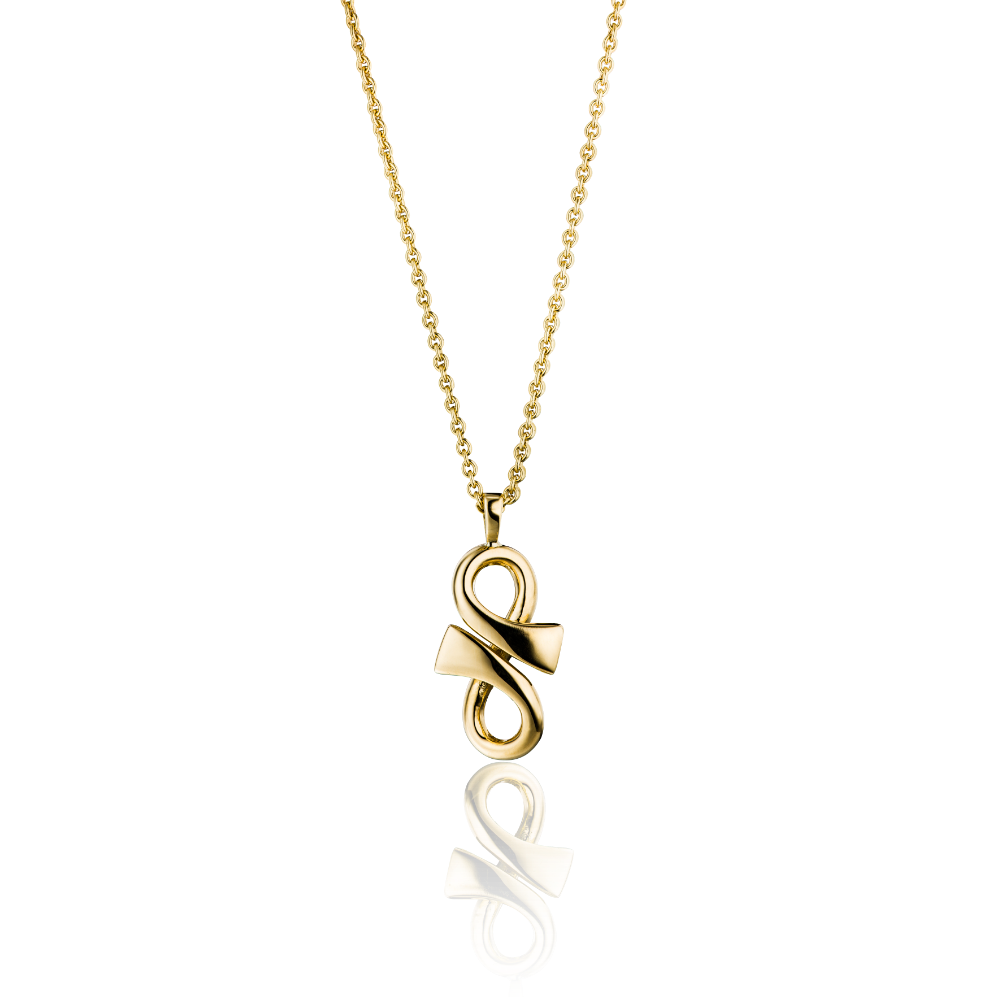 18ct Yellow Gold 'GC' Pendant