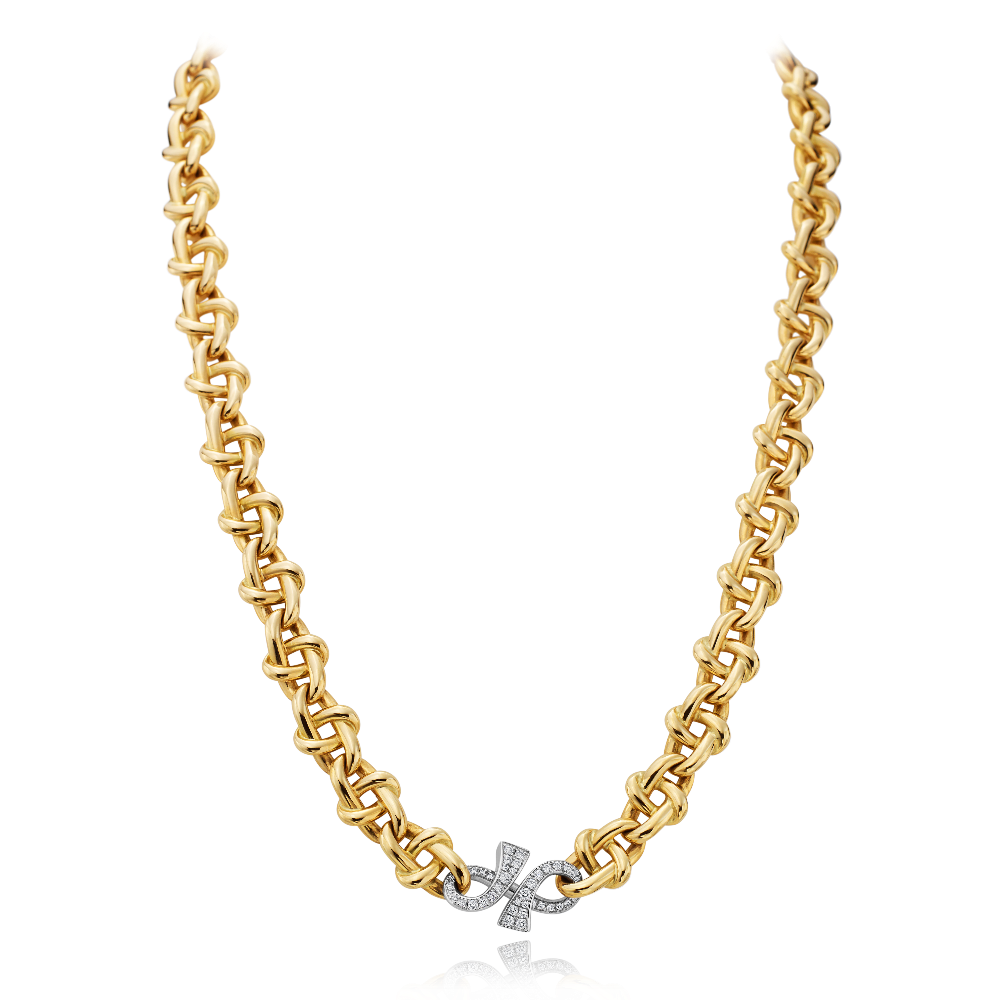 'GC' Collection 18ct Yellow Gold Necklet